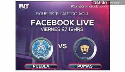 Azteca 7 en Vivo Puebla vs Pumas Online previo U.N.A.M. León