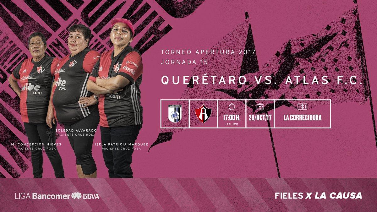 Por imagen tv Querétaro vs Atlas en Vivo previo Guadalajara Atlas