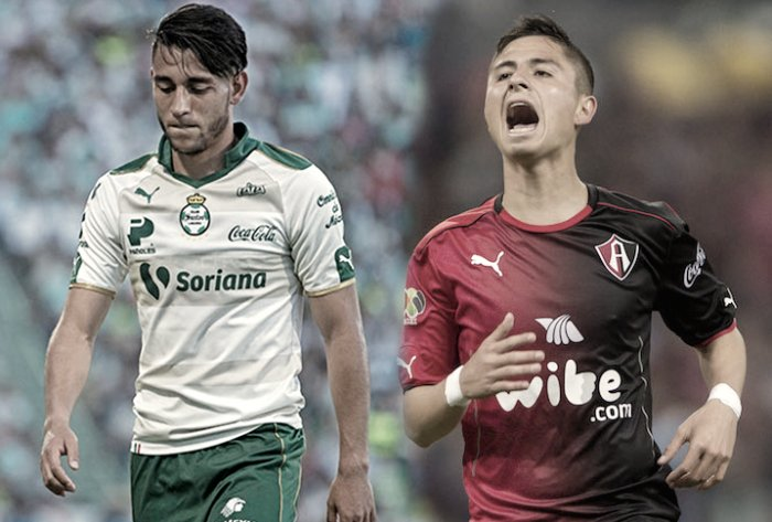 Santos vs Atlas en Vivo ESPN Liga MX 2017