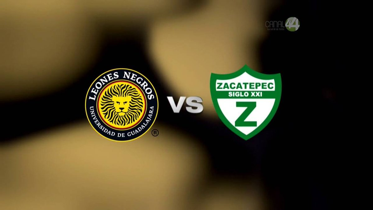 Zacatepec vs Leones Negros en Vivo en el Ascenso MX 2017