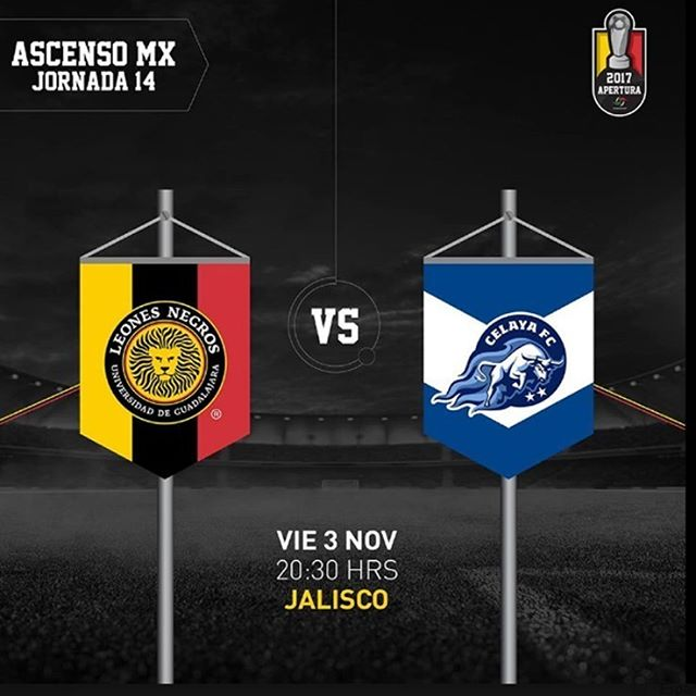 Leones Negros vs Celaya en Vivo Canal 44 Ascenso MX 2017