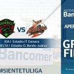 Partido de ida Alebrijes vs Juárez en Vivo 2017 final Ascenso MX 2017