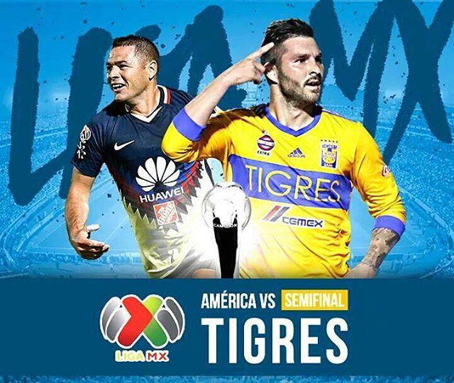 Partido de Ida América vs Tigres en Vivo Semifinal 2017 Liga MX 2017