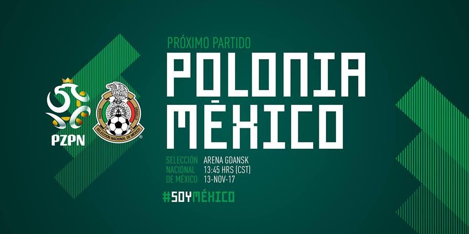 Partido Polonia vs México en Vivo Amistoso 2017