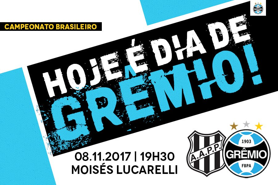 Ponte Preta vs Grêmio en Vivo Brasileirao 2017