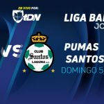 Pumas vs Santos en Vivo por Canal 2 Liga MX 2017