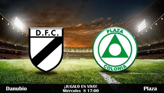 Resultado Danubio vs Plaza Colonia en Vivo Fútbol Uruguay 2017