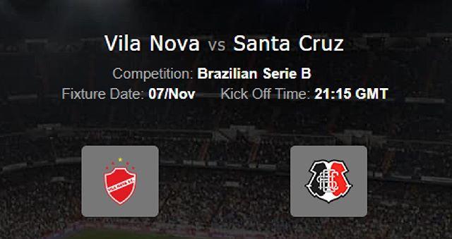 Vila Nova vs Santa Cruz en Vivo Serie B Brasil 2017