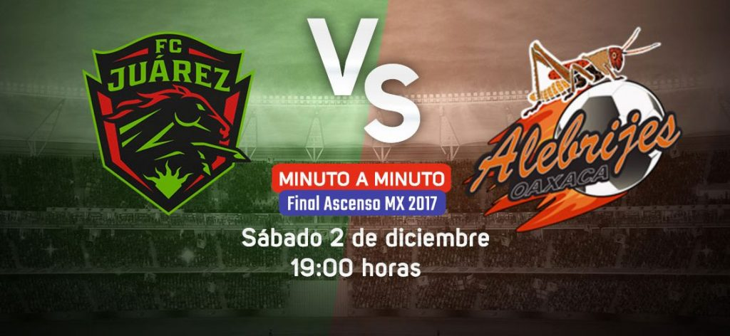 Final en Vivo Bravos vs Alebrijes 2017 Ascenso MX 2017