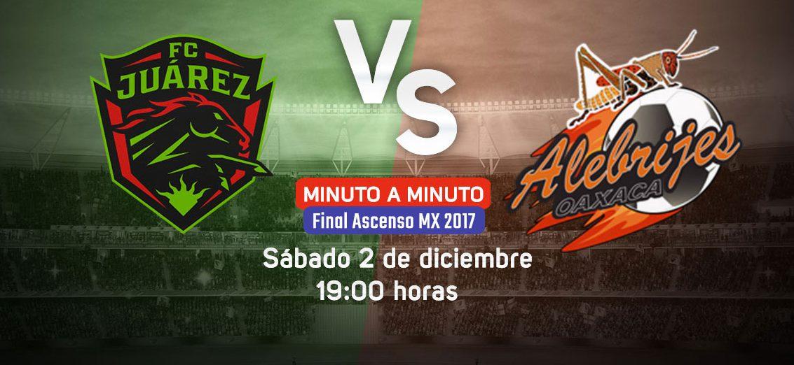 Final en Vivo Bravos vs Alebrijes 2017 Ascenso MX 2017