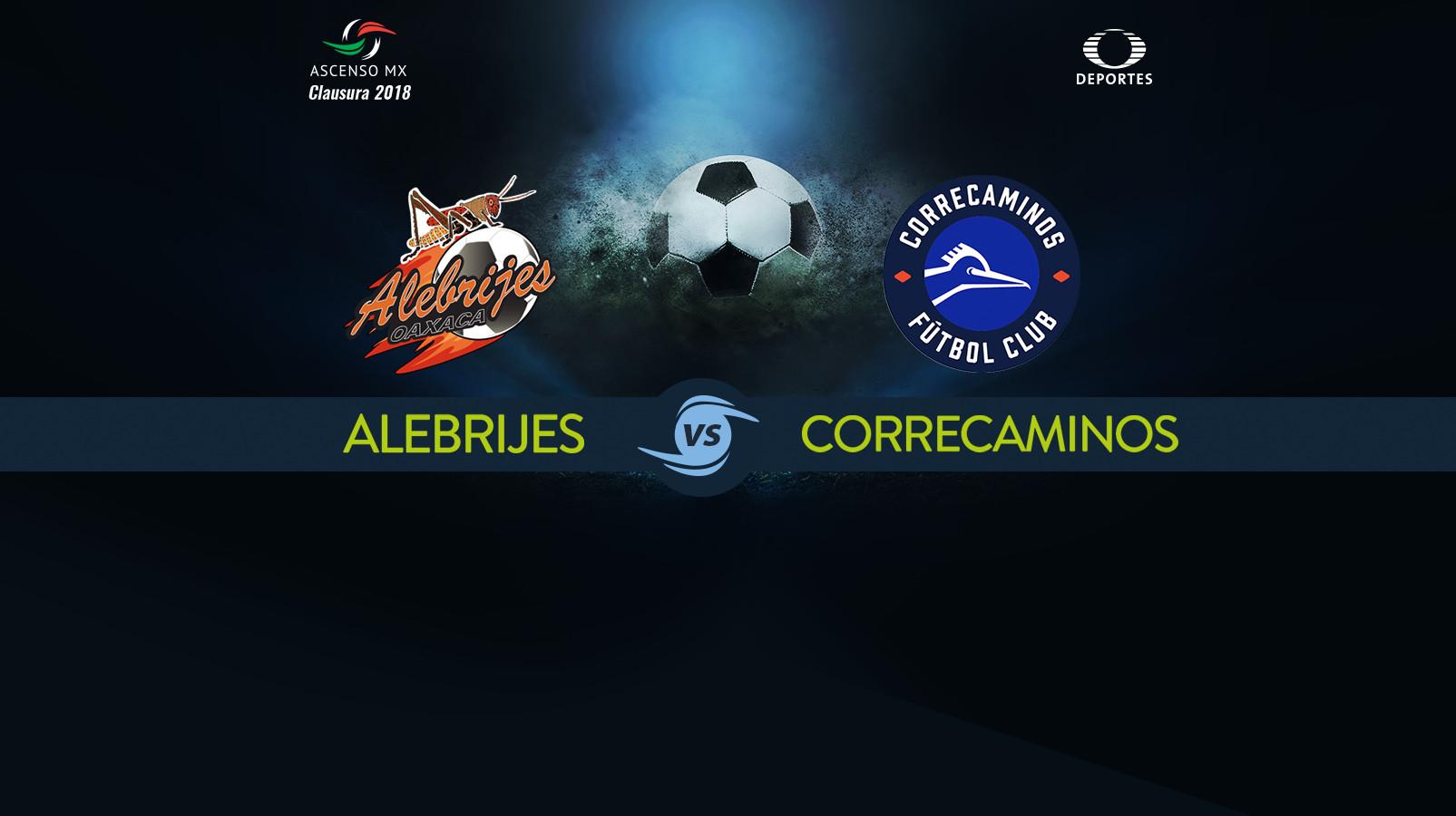 Alebrijes vs Correcaminos en Vivo 2018 Ascenso MX 2018