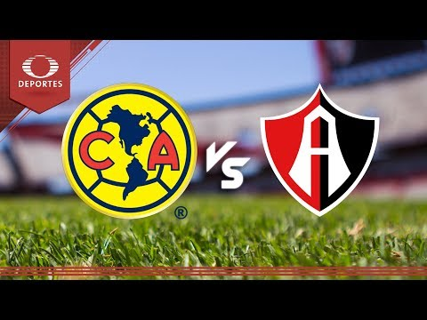 América vs Atlas en Vivo por Internet Liga MX 2018