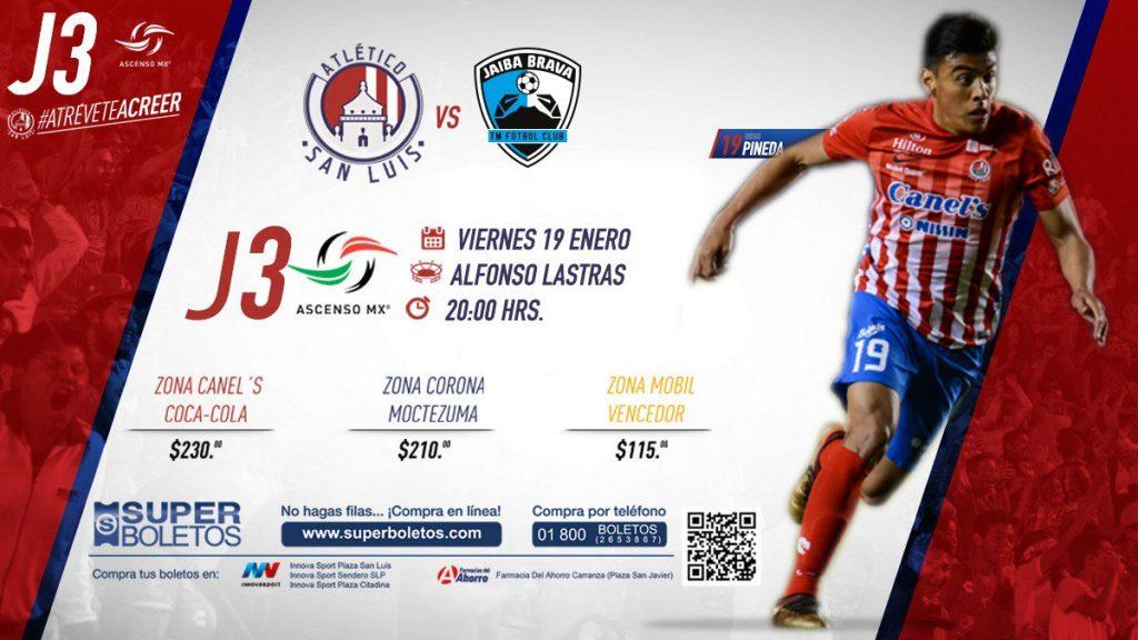 Atlético San Luis vs Tampico Madero en Vivo 2018 Ascenso MX 2018