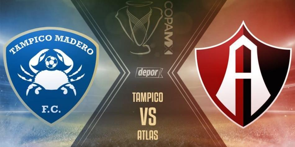 Copa MX Tampico Madero vs Atlas en Vivo Copa MX 2018
