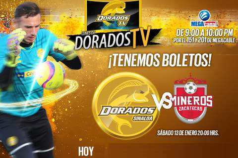 Dorados vs Mineros en Vivo 2018 Ascenso MX 2018