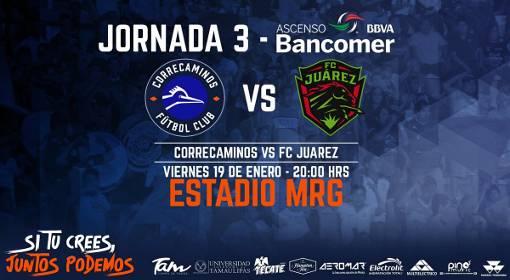En Vivo Correcaminos vs Juárez 2018 Ascenso MX 2018
