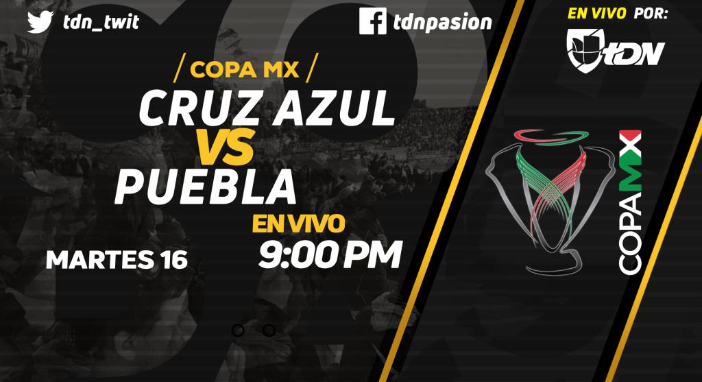 en Vivo Cruz Azul vs Puebla 2018 Copa MX 2018