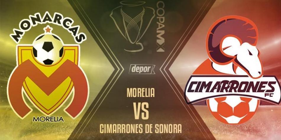 En Vivo Morelia vs Cimarrones 2018 Copa MX 2018
