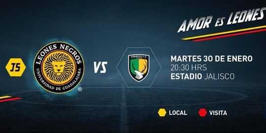 Leones Negros vs Venados en Vivo Online Ascenso MX 2018