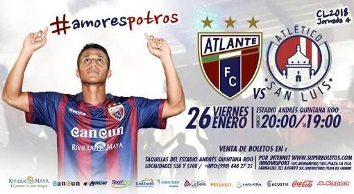 Por TDN en vivo Atlante vs Atlético San Luis 2018 Ascenso MX 2018