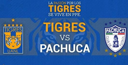 Tigres vs Pachuca en Vivo Online Liga MX 2018