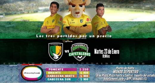 Venados vs Cafetaleros en Vivo Jornada 3 Copa MX 2018