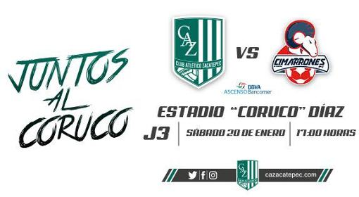 Zacatepec vs Cimarrones en Vivo 2018 Ascenso MX 2018