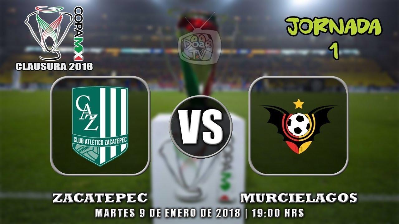 Zacatepec vs Murciélagos Online Copa MX 2018