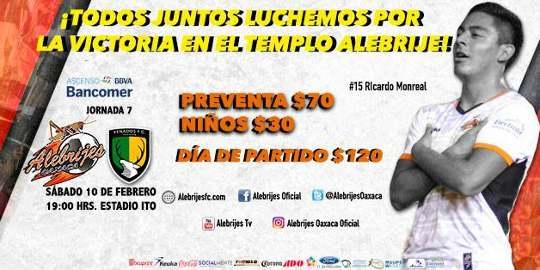 Alebrijes vs Venados en Vivo Online Ascenso MX 2018