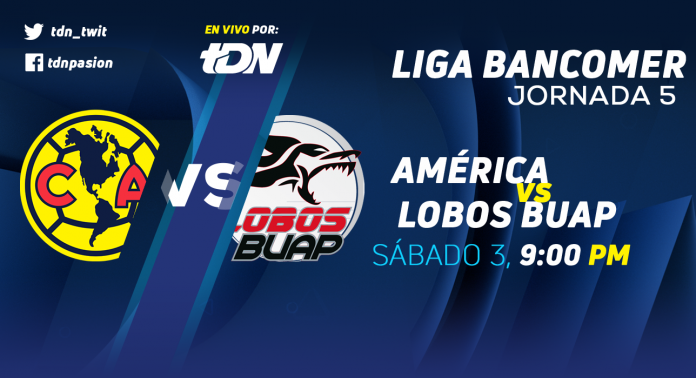 América vs Lobos BUAP en Vivo por TDN Liga MX 2018