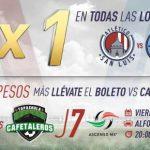 Atlético San Luis vs Cafetaleros en Vivo Ascenso MX 2018