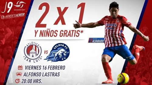 Atlético San Luis vs Celaya en Vivo Ascenso MX 2018