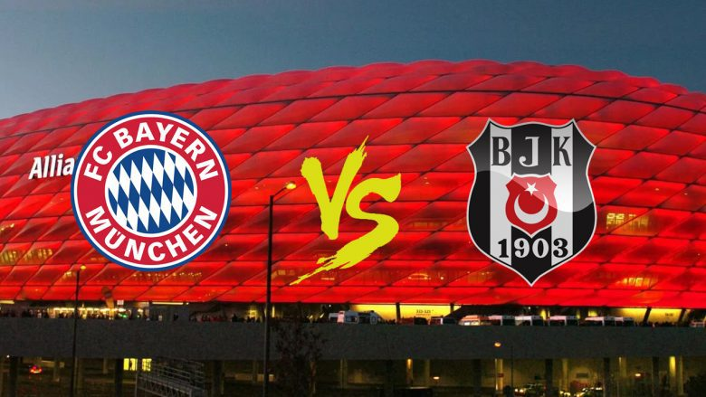 Bayern Múnich vs Besiktas en Vivo Champions League 2018
