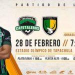 Cafetaleros vs Venados en Vivo Online Copa MX 2018