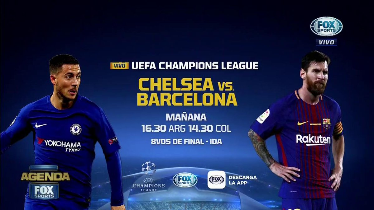 Chelsea vs Barcelona en Vivo Champions League 2018