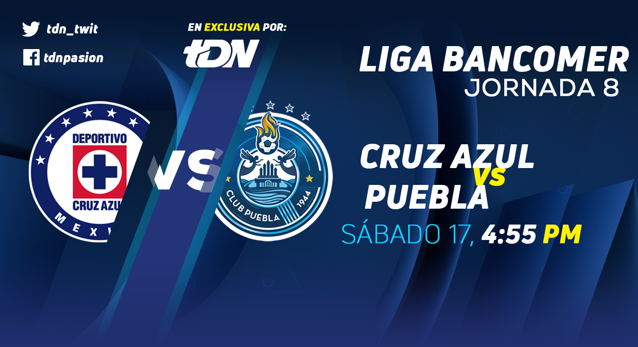 Cruz Azul vs Puebla en Vivo Liga MX 2018