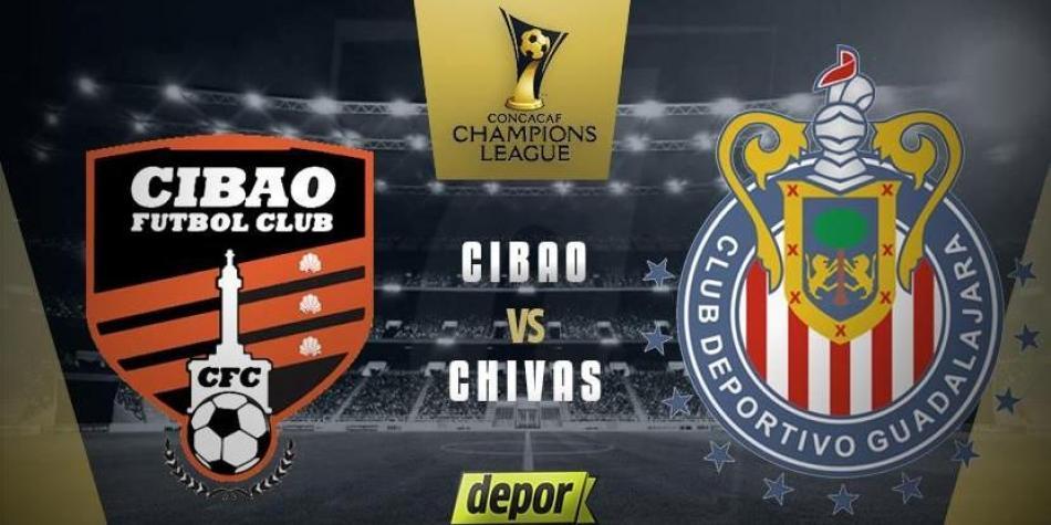 En que canal juega Cibao vs Chivas en Vivo CONCACAF Liga de Campeones 2018