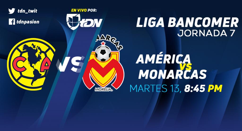 En que canal juega el América vs Morelia en Vivo Liga MX 2018