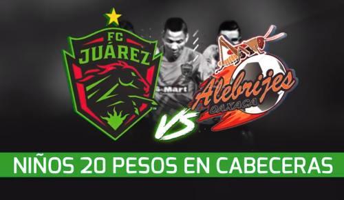 Juárez vs Alebrijes en Vivo Online Ascenso MX 2018