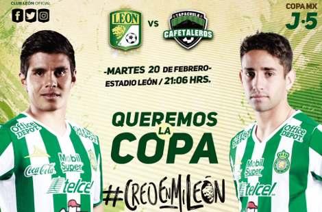 León vs Cafetaleros en Vivo Online Copa MX 2018