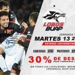 Lobos BUAP vs Tigres en Vivo Online Liga MX 2018
