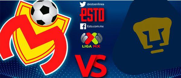 Monarcas vs Pumas por Azteca 7 en Vivo Liga MX 2018