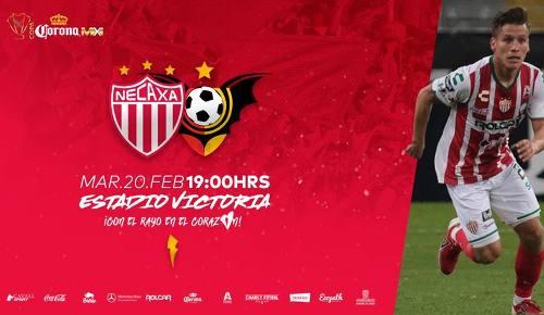 Necaxa vs Murciélagos en Vivo Online Copa MX 2018