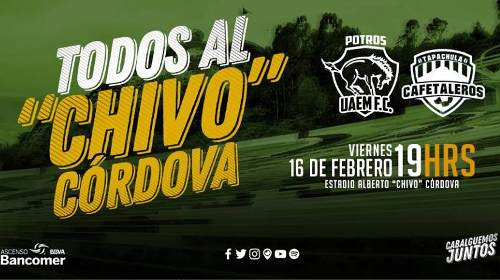 Potros UAEM vs Cafetaleros en Vivo Ascenso MX 2018