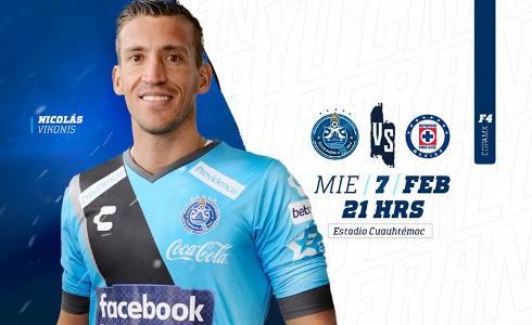 Puebla vs Cruz Azul en Vivo por TDN Copa MX 2018