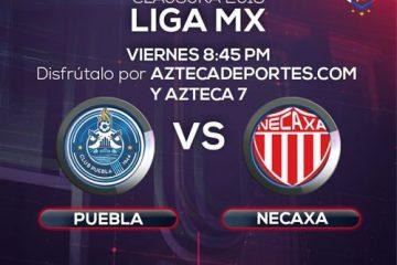 Puebla vs Necaxa en Vivo Liga MX 2018