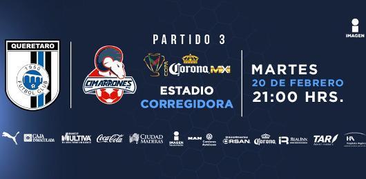 Querétaro vs Cimarrones en Vivo Por internet Copa MX 2018