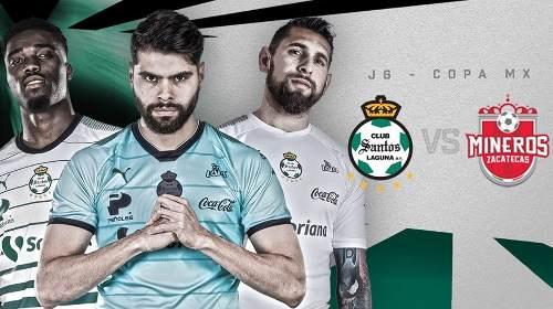 Santos vs Mineros en Vivo Copa MX 2018