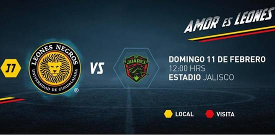 U de G vs Bravos en Vivo Online Ascenso MX 2018
