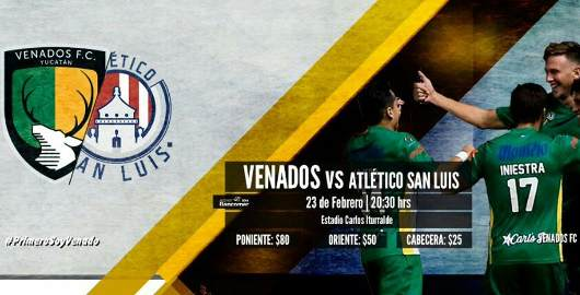 Venados vs Atlético San Luis en Vivo Ascenso MX 2018